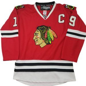 Chicago Blackhawks Toews Red Home Jersey Large
